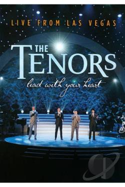 Canadian Tenors: Lead With Your Heart - Live from Las Vegas DVD Cover Art