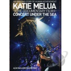 Katie Melua: Concert Under the Sea DVD Cover Art