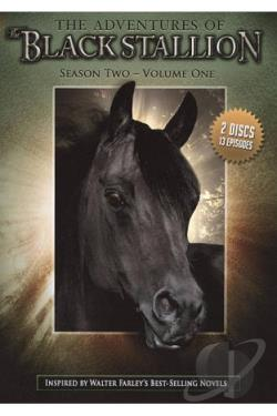 Adventures of the Black Stallion: Season Two, Vol. 1 DVD Cover Art