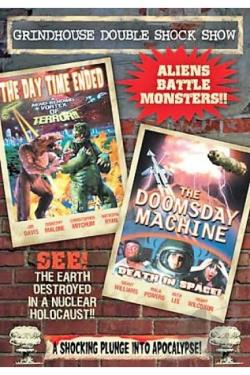 Grindhouse Double Shock Show: The Day Time Ended/The Doomsday Machine DVD Cover Art