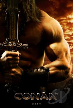 Conan the Barbarian DVD Cover Art
