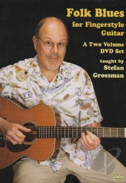 Folk Blues for Fingerstyle Guitar DVD Cover Art