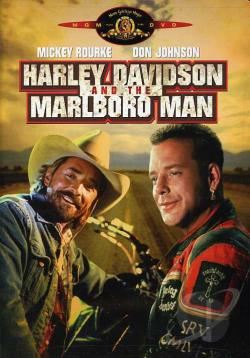 Harley Davidson and the Marlboro Man DVD Cover Art