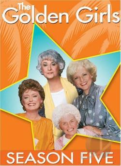 Golden Girls - The Complete Fifth Season DVD Cover Art