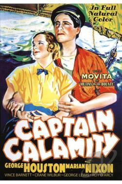Captain Calamity DVD Cover Art