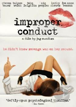 Improper Conduct DVD Cover Art