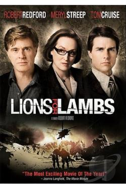 Lions for Lambs DVD Cover Art