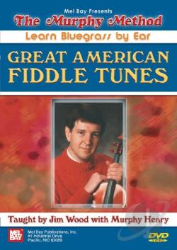 Great American Fiddle Tunes DVD Cover Art