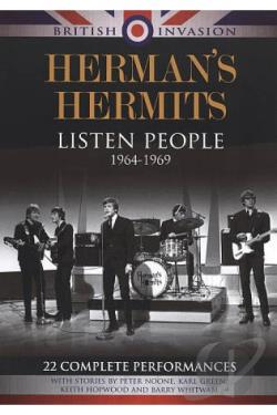 British Invasion: Herman's Hermits - Listen People, 1964-1969 DVD Cover Art