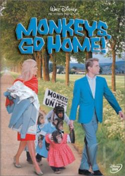 Monkeys, Go Home DVD Cover Art