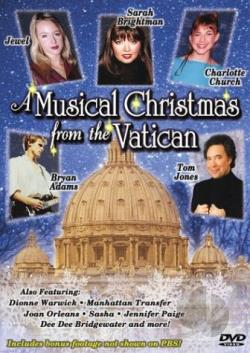 Musical Christmas From The Vatican DVD Cover Art