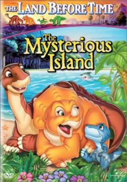 Land Before Time V: The Mysterious Island DVD Cover Art