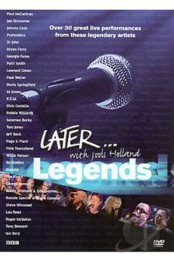 Jools Holland - Later...Legends DVD Cover Art
