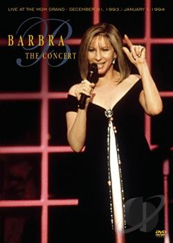 Barbra Streisand - The Concert: Live at the MGM Grand DVD Cover Art