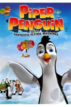 Piper Penguin and His Fantastic Flying Machines DVD Cover Art