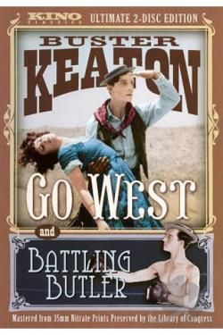 Battling Butler/Go West DVD Cover Art