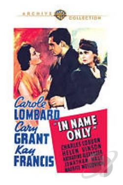 In Name Only DVD Cover Art