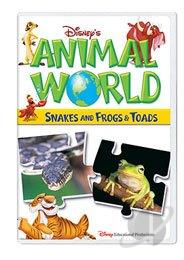 Disney's Animal World: Snakes and Frogs & Toads DVD Cover Art