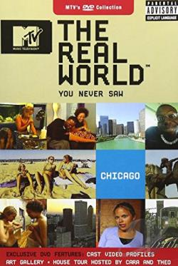 MTV's The Real World You Never Saw - Chicago DVD Cover Art