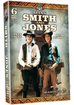 Alias Smith and Jones - The Complete Second and Third Seasons DVD Cover Art
