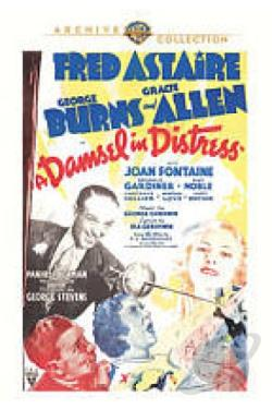 Damsel in Distress DVD Cover Art
