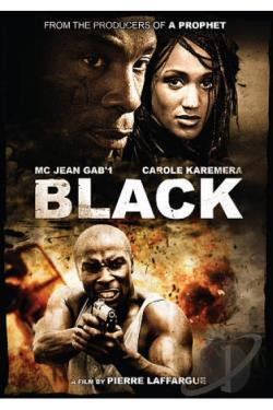 Black DVD Cover Art