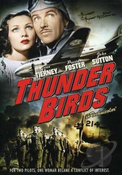 Thunder Birds DVD Cover Art