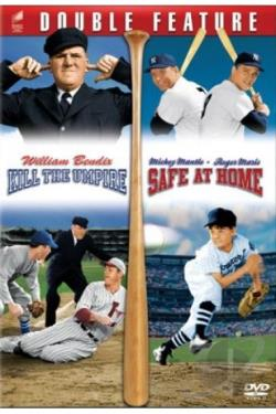 Baseball Double Feature DVD Cover Art