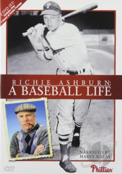 Richie Ashburn: A Baseball Life DVD Cover Art