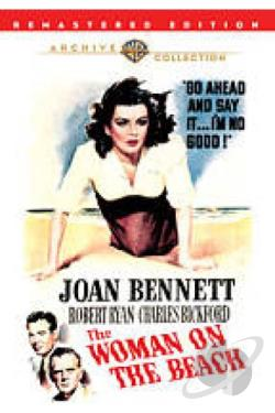 Woman on the Beach DVD Cover Art