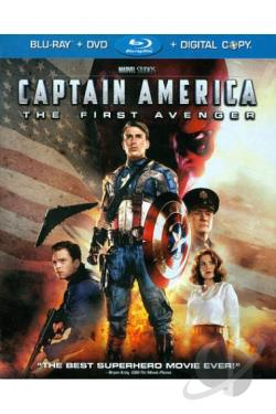 Captain America: The First Avenger BRAY Cover Art