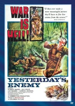 Yesterday's Enemy DVD Cover Art