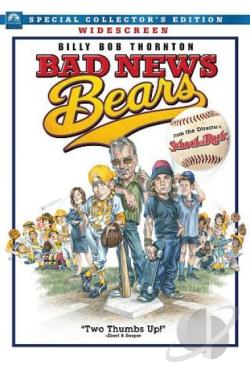 Bad News Bears DVD Cover Art