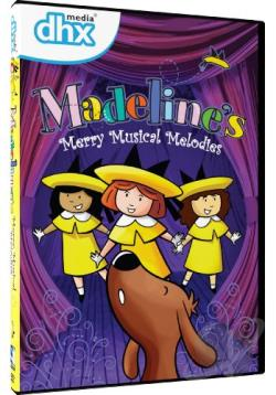 Madeline's Merry Musical Melodies DVD Cover Art