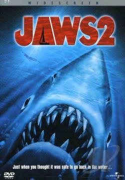 Jaws 2 DVD Cover Art