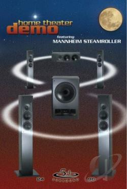 Home Theater Demo Featuring Mannheim Steamroller DVD Cover Art