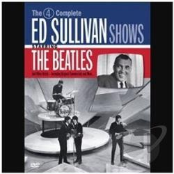Beatles - Ed Sullivan Presents the Beatles - 4 Complete Shows DVD Cover Art