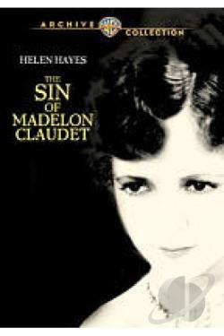 Sin of Madelon Claudet DVD Cover Art