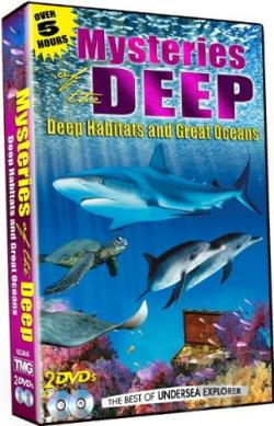 Mysteries of the Deep: Deep Habitats and Great Oceans DVD Cover Art