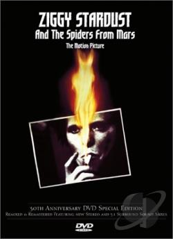 Ziggy Stardust and the Spiders from Mars: The Motion Picture DVD Cover Art