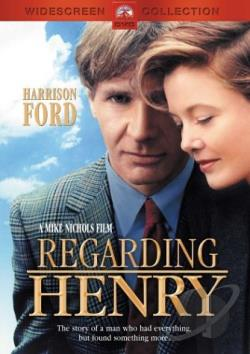 Regarding Henry DVD Cover Art