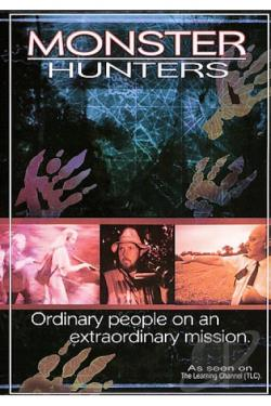 Monster Hunters: Ordinary People on an Extraordinary Mission DVD Cover Art