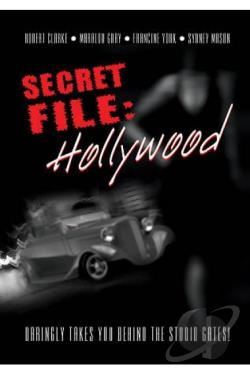 Secret File Hollywood DVD Cover Art