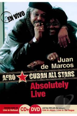 Juan de Marcos/Afro Cuban All Stars: Absolutely Live DVD Cover Art