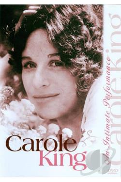 Carole King: An Intimate Performance DVD Cover Art