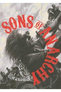 Sons Of Anarchy - The Complete Third Season DVD Cover Art