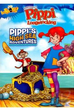 Pippi Longstocking: Pippi's High Sea Adventures DVD Cover Art