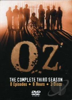 Oz - The Complete Third Season DVD Cover Art