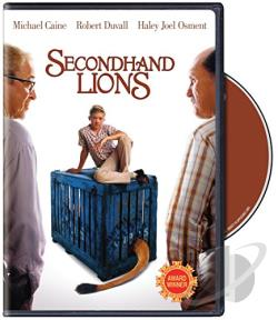 Secondhand Lions DVD Cover Art