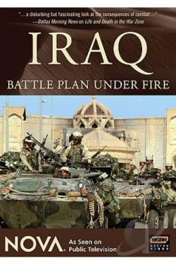 Nova - Iraq: Battle Plan Under Fire DVD Cover Art